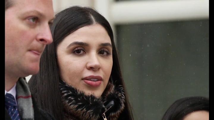 Esposa del Chapo arrestada en aeropuerto de EEUU por cargos de narcotráfico