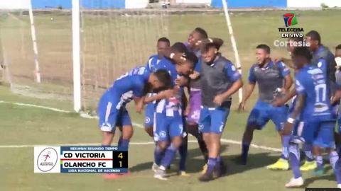 Victoria 4-1 Olancho Fc (Liga se ascenso)