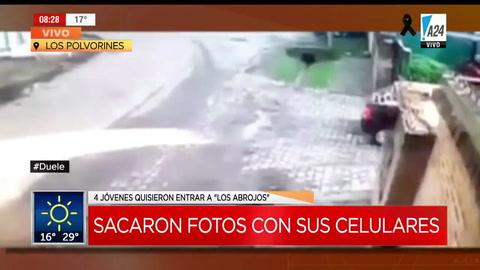 El video de los jóvenes que quisieron ingresar a la quinta de Macri