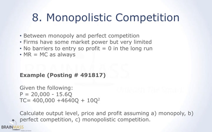 essay about monopolistic competition Read this essay on monopolistic competition come browse our large digital warehouse of free sample essays get the knowledge you need in order to pass your classes and more.