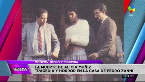 Carlos Monzón y Alicia Muñiz