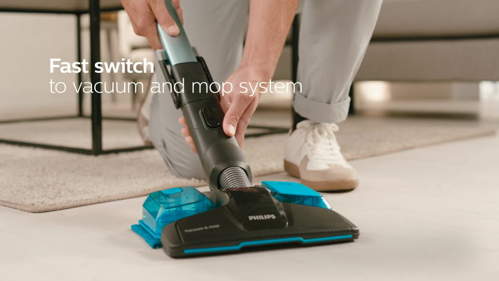 Preview image of Philips Speedpro Max Aqua Cordless Stick Vacuum Cl video