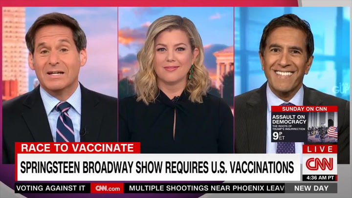 CNN's Dr. Gupta: We're 'Already Probably at Some Level of Herd Immunity' When You Factor in Natural Immunity