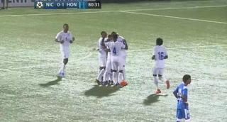 ¡Gol de Honduras! José Mario Pinto pone el 2-0 ante Nicaragua