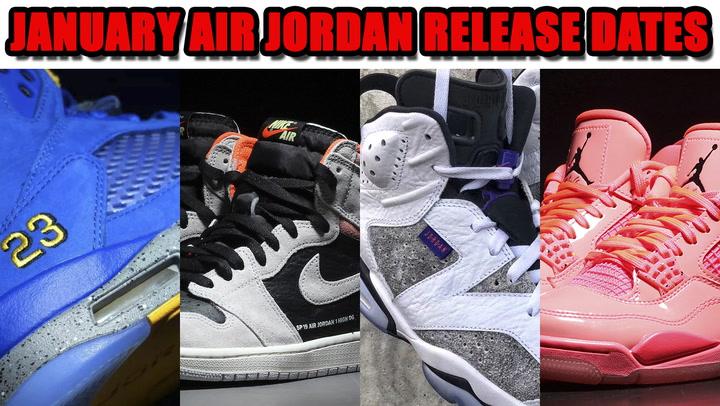 b8aa2cb7515 January 2019 Air Jordan Release Dates + Price   SneakerFiles