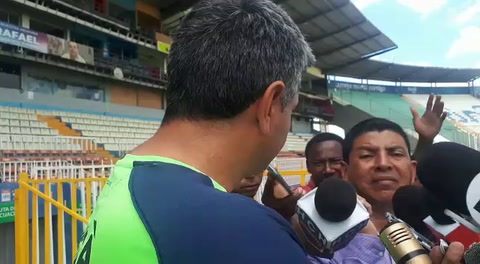 Diego Vazquez opina sobre la llegada de Fabian Coito a Honduras