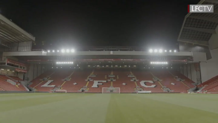 Amazing Drone Footage Of Anfield Under The Floodlights