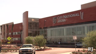 Official opening of City National Arena, practice facility for the Golden Knights