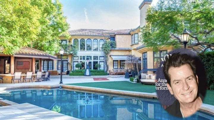 Charlie Sheen Selling Beverly Hills Mansion: If These Walls Could Talk!