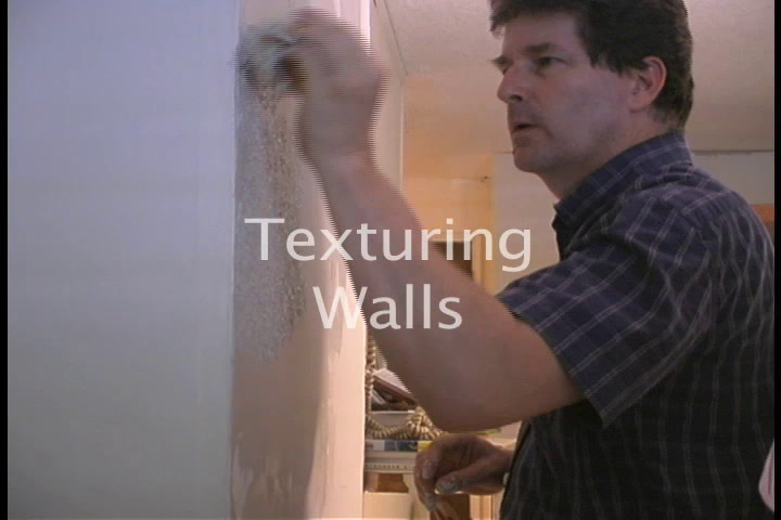 The American Garage- Texturing a Wall