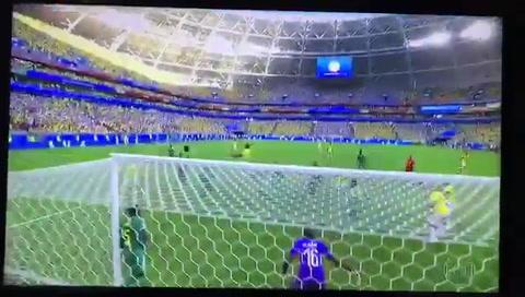 La insólita reacción de un jugador de Senegal en el gol de Colombia