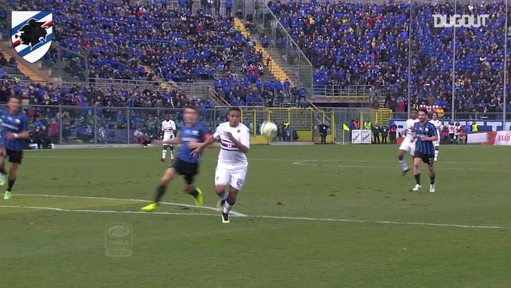 Luis Muriel's stunning goal in Atalanta win