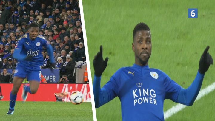 Leicester på vej videre i FA Cuppen!