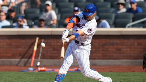 Can Michael Conforto salvage his 2021 season with 45 games to go?