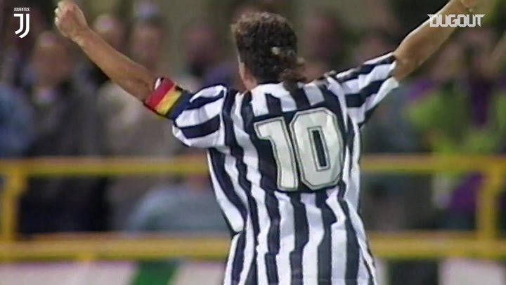 Roberto Baggio's best skills and goals at Juventus