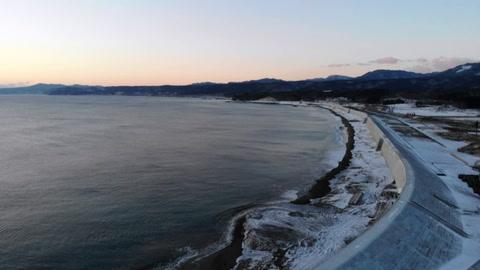 Los imponentes muros marítimos en Japón, un legado del tsunami de 2011