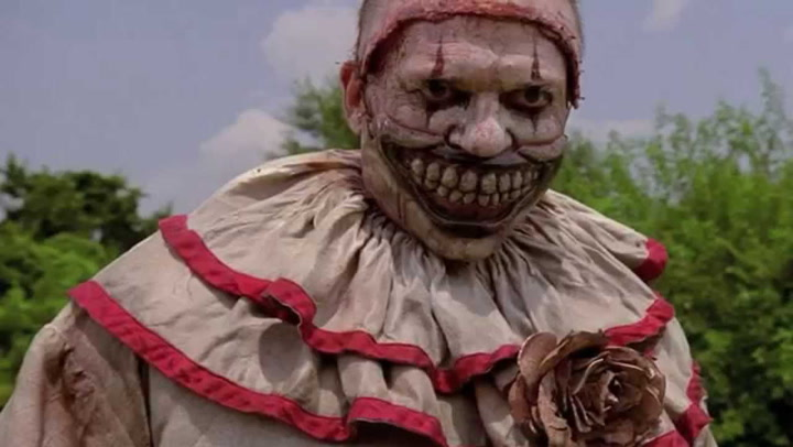 HALLOWEEN-American Horror Story-TWISTY THE CLOWN COSTUME with Twisty Mouth-Blood