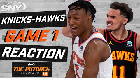 Ian Begley takes a closer look at Knicks Game 1 loss to the Hawks | The Putback