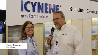 Greenbuild interview - Icynene