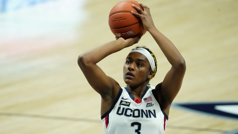 UConn Huskies freshman Aaliyah Edwards talks hoops, music, and life