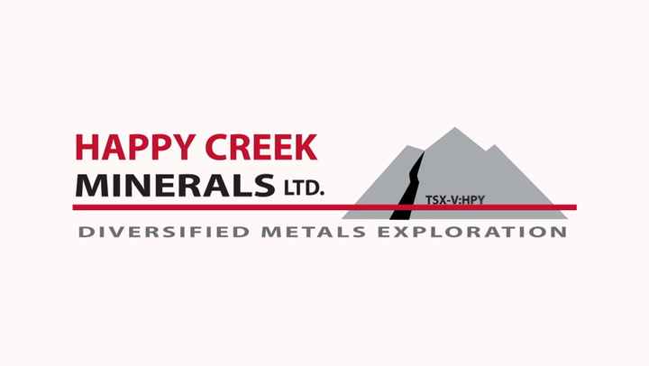 Happy Creek Minerals New Tungsten Discovery