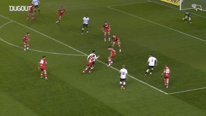 Derby's best strikes against Bristol City