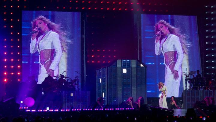 El esperado concierto de Jennifer Lopez en Fuengirola