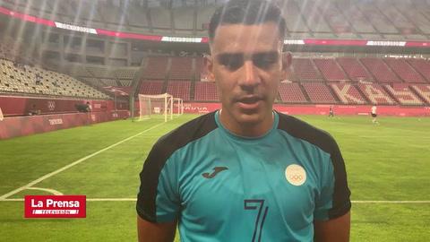 Las reacciones de los futbolistas hondureños despues de la remontada ante Nueva Zelanda