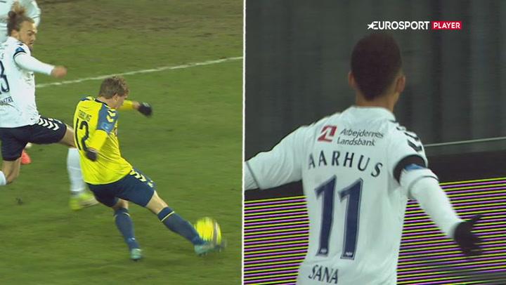 Highlights: Brøndby formøblede tomålsføring mod AGF!