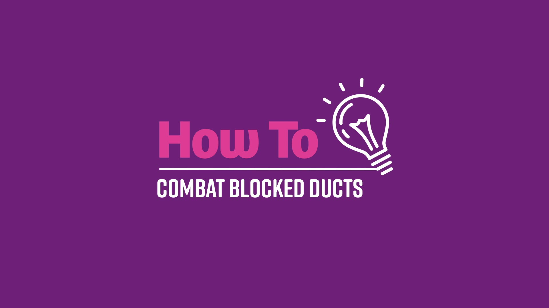 How to combat blocked ducts when breastfeeding