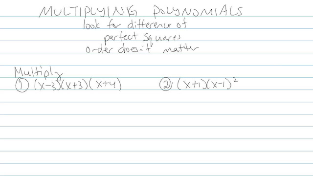 Multiplying Polynomials - Problem 3