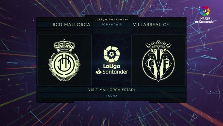 LaLiga (J5): Resumen del Mallorca 0-0 Villarreal