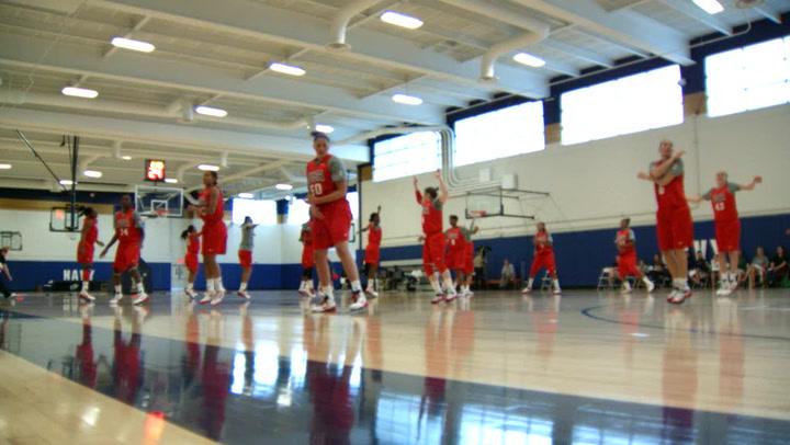 Phantom Cam: Women's National Team Practice in Annapolis