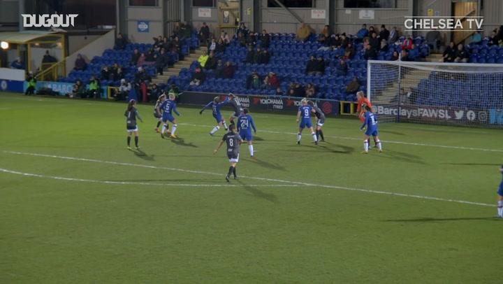 Guro Reiten gives Chelsea the lead vs Birmingham City
