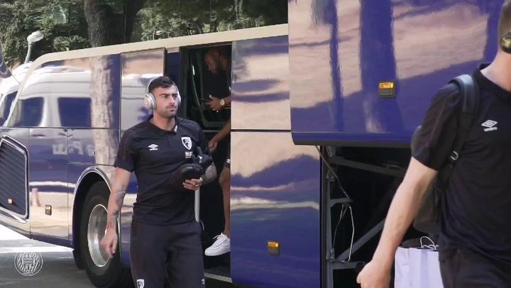 El Girona pone rumbo a Manchester