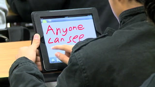 Using Tablets for Teaching Sensitive Subjects