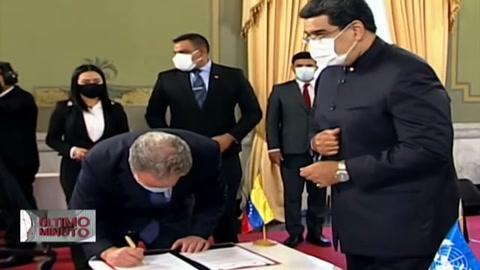 Programa de alimentación de la ONU acuerda plan para atender a niños en Venezuela