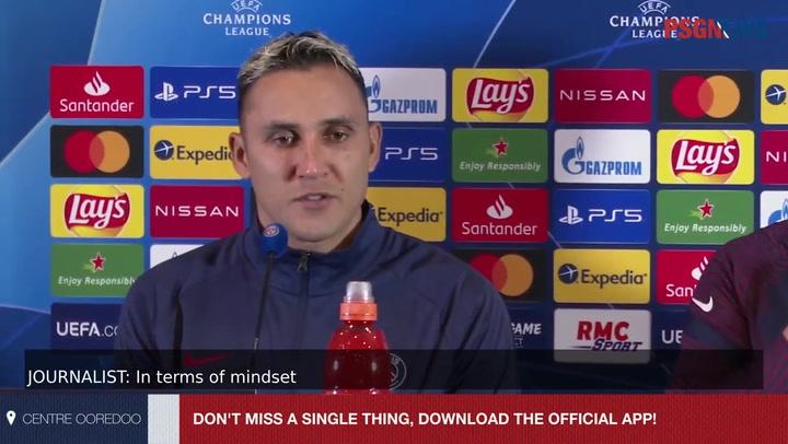 Keylor Navas no se fía del Barça pero dice que