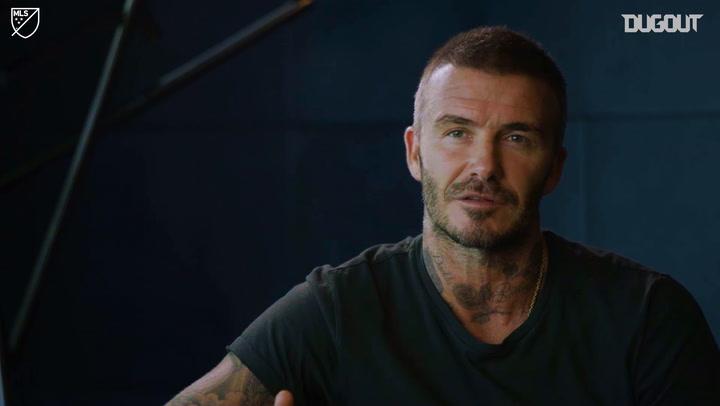 David Beckham Talks Inter Miami