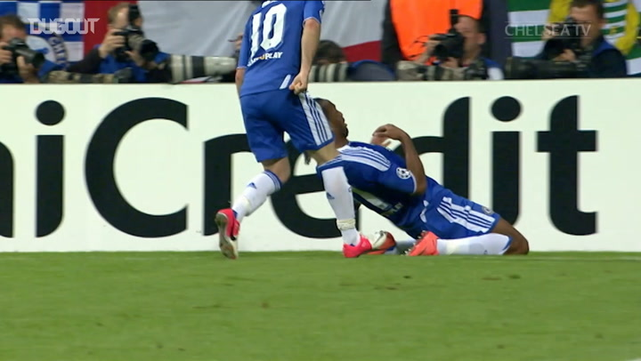 Didier Drogba's headed goals