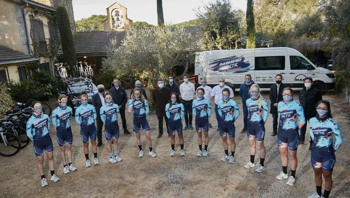 El Massi-Tactic femenino tendrá el equipo más internacional en su tercer año en la élite ciclista