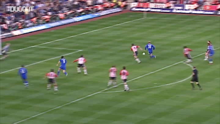 Chelsea's best five goals against Southampton