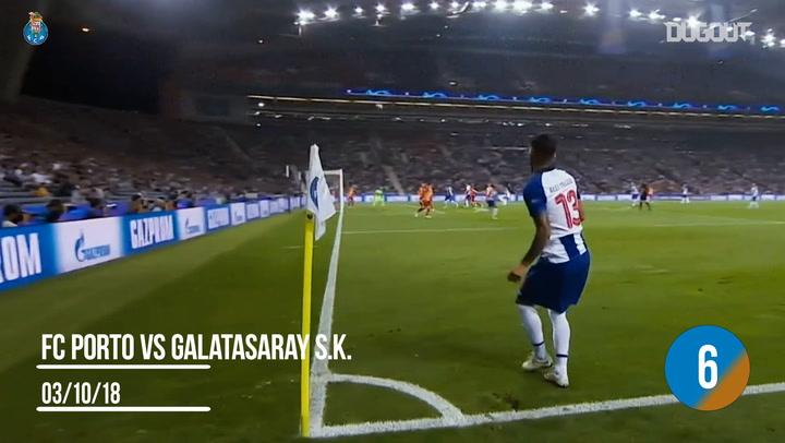 Marega's six Champions League goals in a row