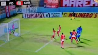 Josimar Maradiaga encontró este golazo después de un tiro libre