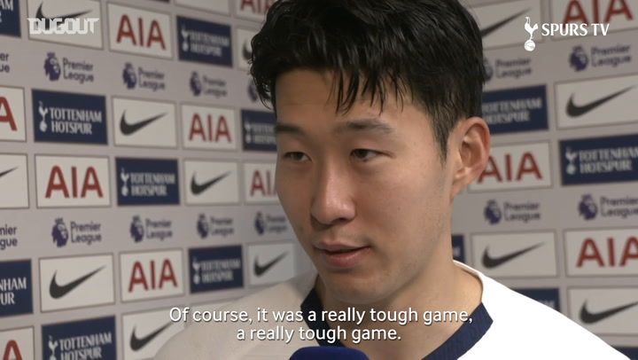 Heung-min Son overjoyed with 2-0 victory over Manchester City