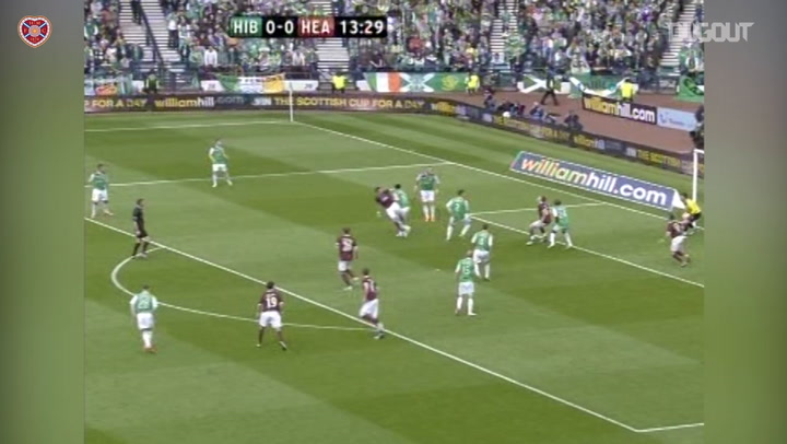 Throwback: Hearts Thrash Hibs In Cup Final