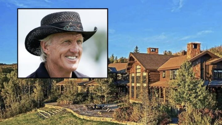 Video: Golfer Greg Norman's $40M Colorado Ranch Is a Sight to ...