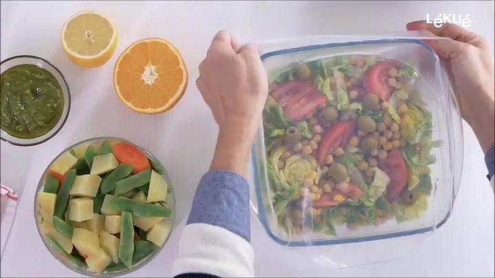 Preview image of Lékué Reusable Flexible Lids video