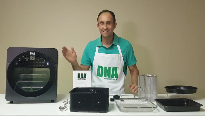 Preview image of DNA Airfryer Oven, 14.5L (updated) video
