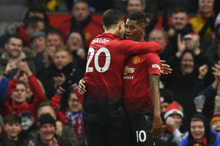 Control y adentro: la fantástica definición de  Rashford en el segundo gol del Manchester United